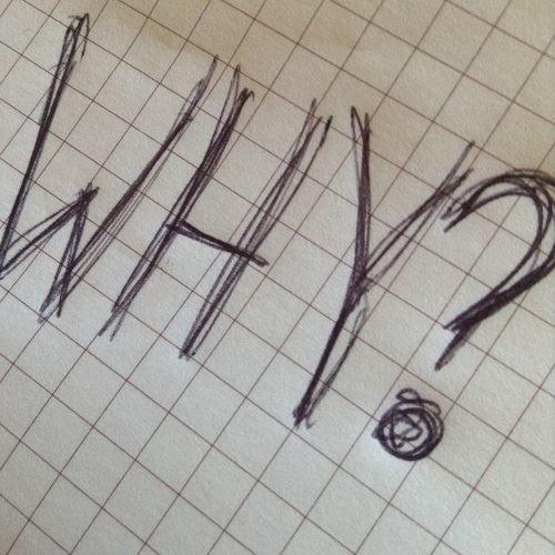 「WHY?」のローマ字