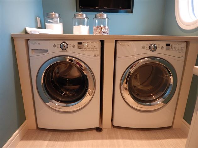 2台の洗濯機
