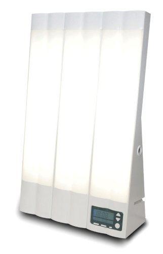 ソーラートーンの光目覚まし時計「ブライトライトME+」の画像