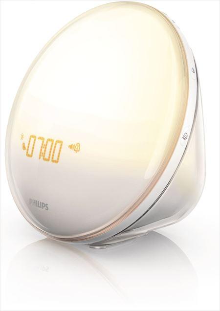 Philips(フィリップス)の光目覚まし時計「Wake-Up Light HF3520」の画像