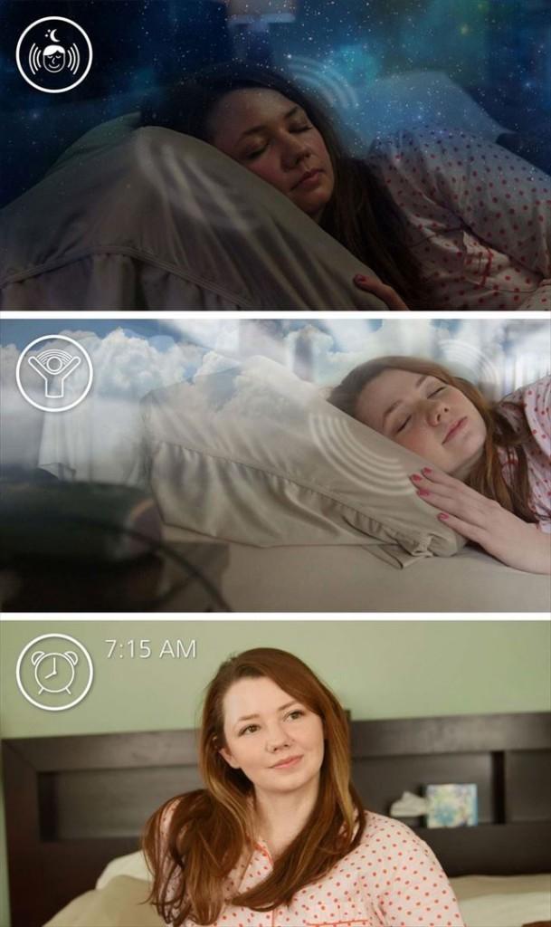 枕とスマホアプリで眠りの質を改善する睡眠システム「クローナ」の画像5