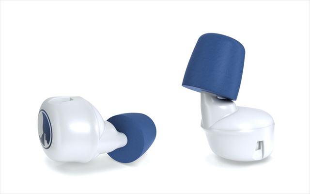 他機能搭載のスマート耳栓Hushの画像2