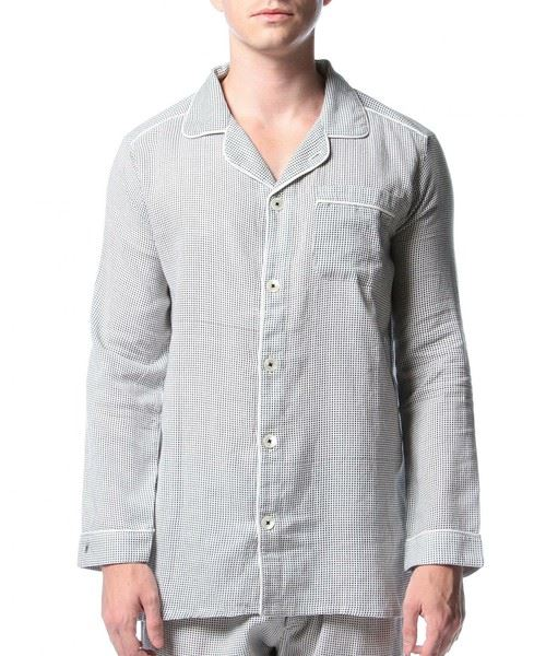P.LeMoult(プ・ル・ムールト)「DOT PAJAMAS SHIRT MENS」