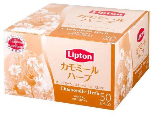 リプトン(Lipton)「カモミールハーブ アルミ 50袋」