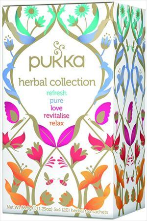 pukka(パッカ)「セレクションボックス有機ハーブティー20TB」