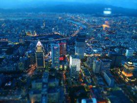 ホテル系ラウンジミュージックが似合う都会の夜景の画像2