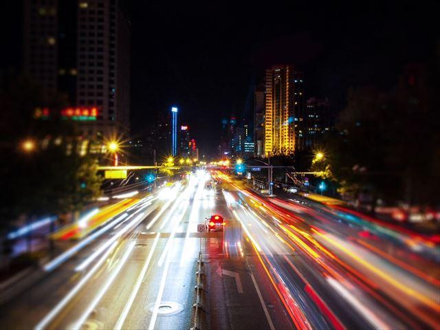 ホテル系ラウンジミュージックが似合う都会の夜景の画像4