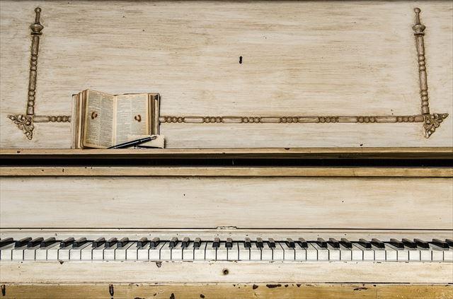 美しい音色を持ったピアノの画像
