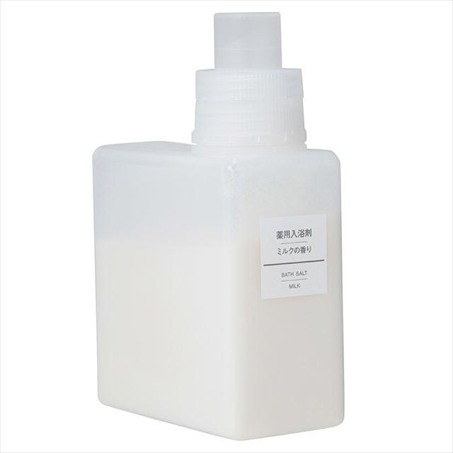 無印良品「薬用入浴剤・ミルクの香り」