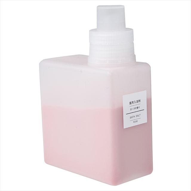 無印良品「薬用入浴剤・ローズの香り」