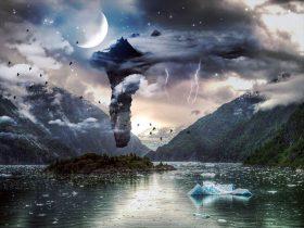 幻想的な音楽が似合う風景画像1