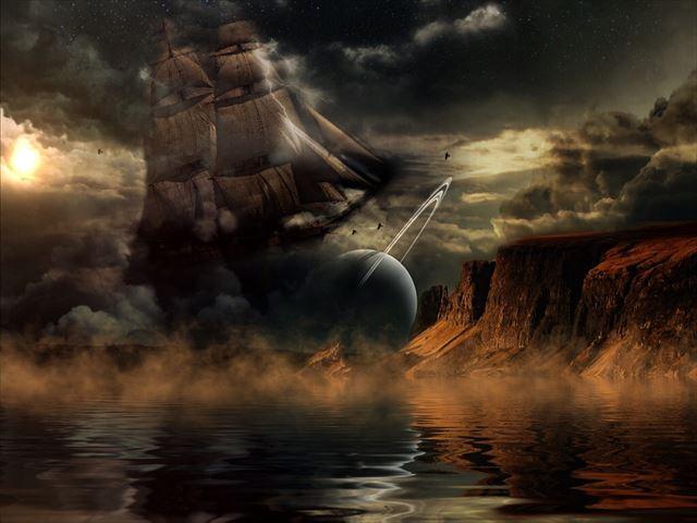 幻想的な音楽が似合う風景画像2