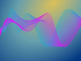 ガンマ波をイメージさせる周波数画像1