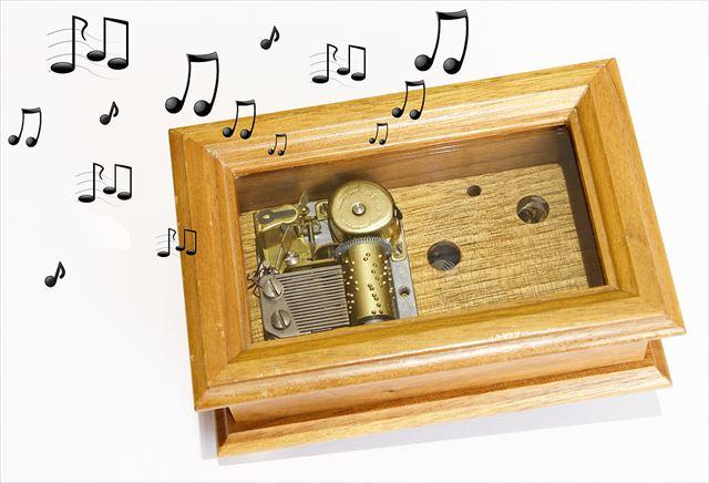 音楽を奏でるオルゴールの画像1